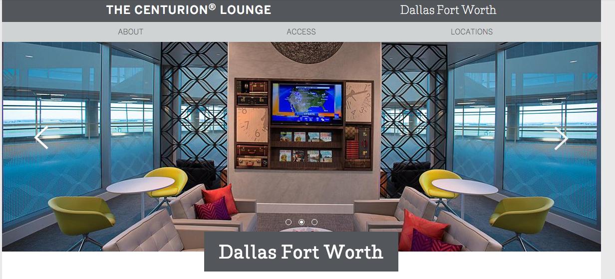 [Tom飛行記錄] American Express Centurion Lounge 體驗文 (2) – 達拉斯-沃斯堡國際機場 (DFW)