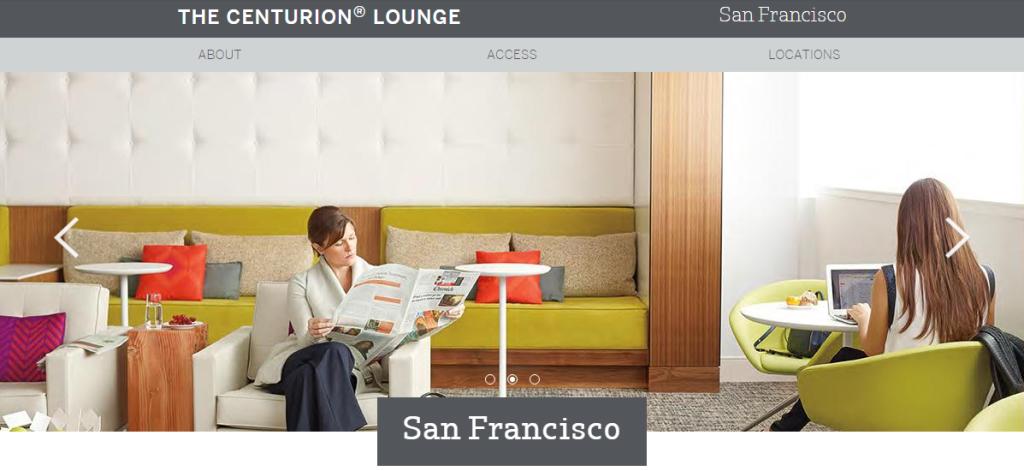 [Simon飛行記錄] American Express Centurion Lounge 體驗文 (3) – 舊金山國際機場 (SFO)